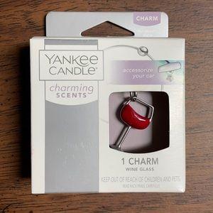 2017 Yankee Candle Wine Glass Charm